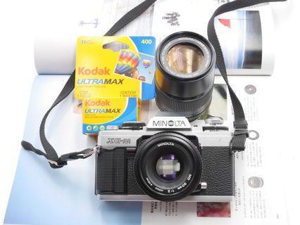 RESERVED Minolta XGM film SLR bundle
