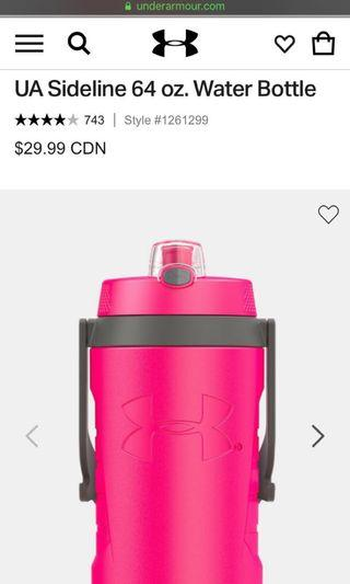 64 OZ Insulated Water Bottle