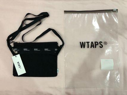 WTAPS black sling bag