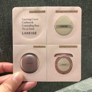 Laneige Layering Cover Cushion & Concealing Base (No.13 Ivory) | 100% Brand New | 100% Authentic