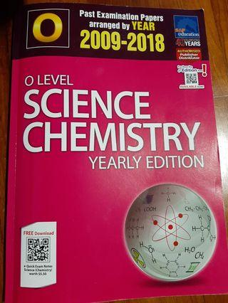 🚚 O Level Chemistry TYS Yearly Edition