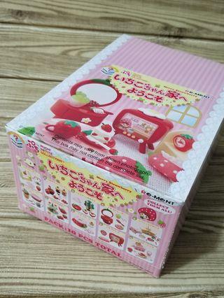 re-ment rement 草莓屋 合 megahouse mimo 扭蛋 fans