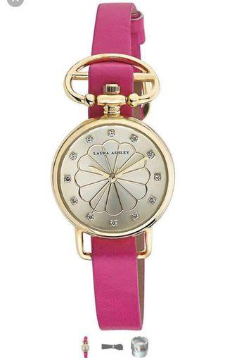 🚚 Laura Ashley Analog Display Squartz Lady Watch