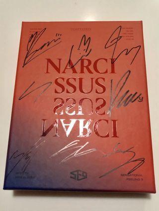 SF9 SIGNED 6TH MINI SLBUM NARCISSUS TEMPTATION VERSION