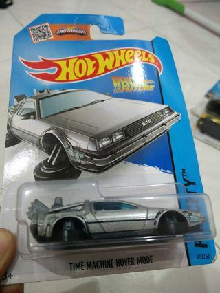 Hotwheels Time Machine Hover Mode Back To The Future #Carouselland