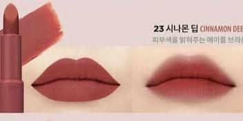Clio Rouge Velvet Lipstick no 23