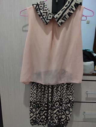 Dress casual peach pink salem