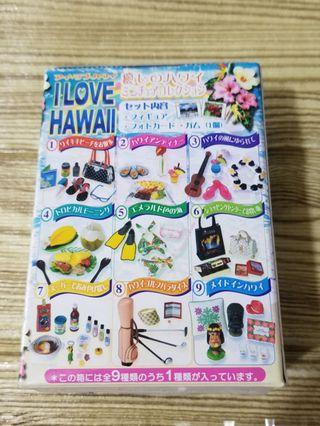 re-ment I love HAWAII 我愛夏威夷 合 rement megahouse mimo fans