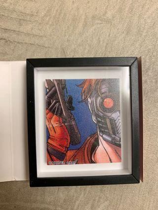 Marvel Frame magnet Guardians of the galaxy 星際特攻隊 Peter Quill
