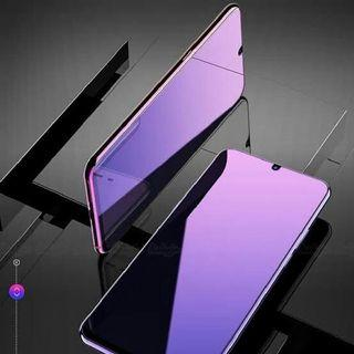 Tempered Glass Blueray/Anti Radiasi for Iphone, Samsumg, Vivo, Oppo, Xiaomi