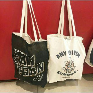 COTTON ON CANVAS TOTEBAG