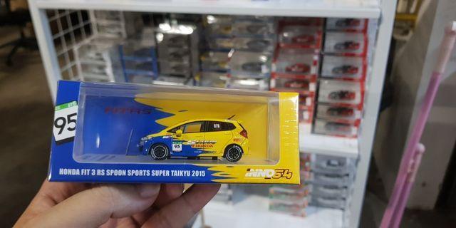 1:64 Inno64 Honda Fit Spoon Sport #95
