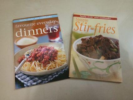 Dpt dua buku: Favorite Everyday Dinners dan Simple Stir Fries
