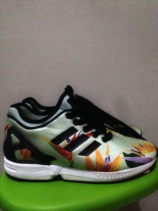 Adidas ZX Flux NPS. Green Floral