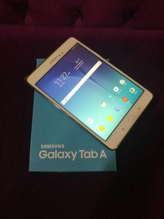 "Super Nice 8"" White Samsung Galaxy Tab A (16GB, WiFi only)"