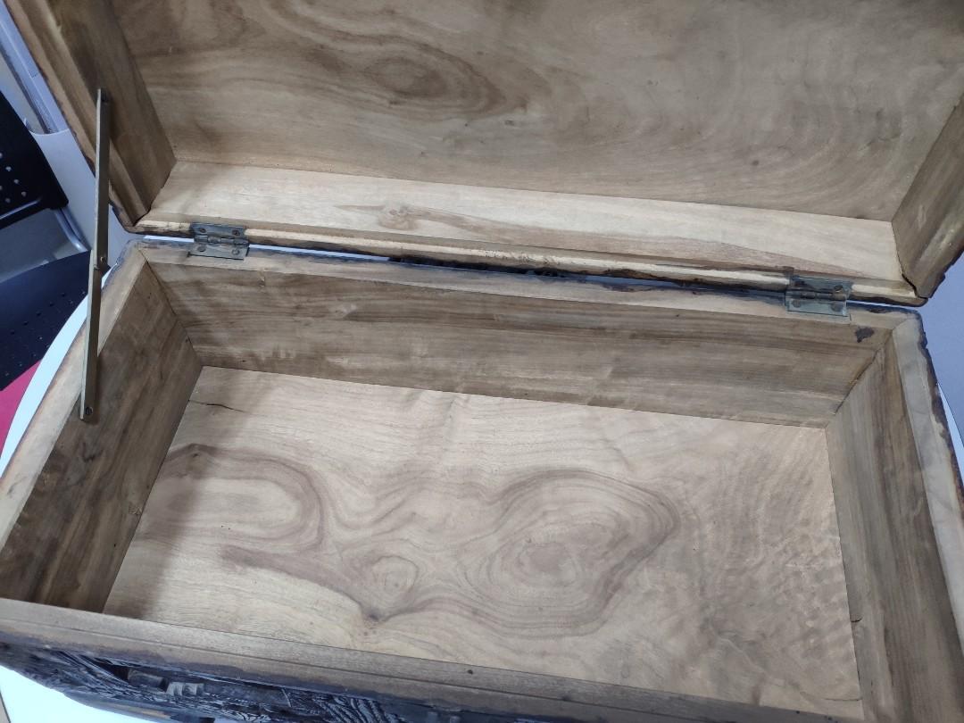 樟木復古收納箱(有香味,天然抗菌)