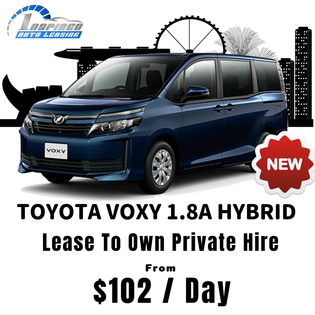 [ Brand New ] TOYOTA VOXY 1.8A HYBRID * Lease To Own *