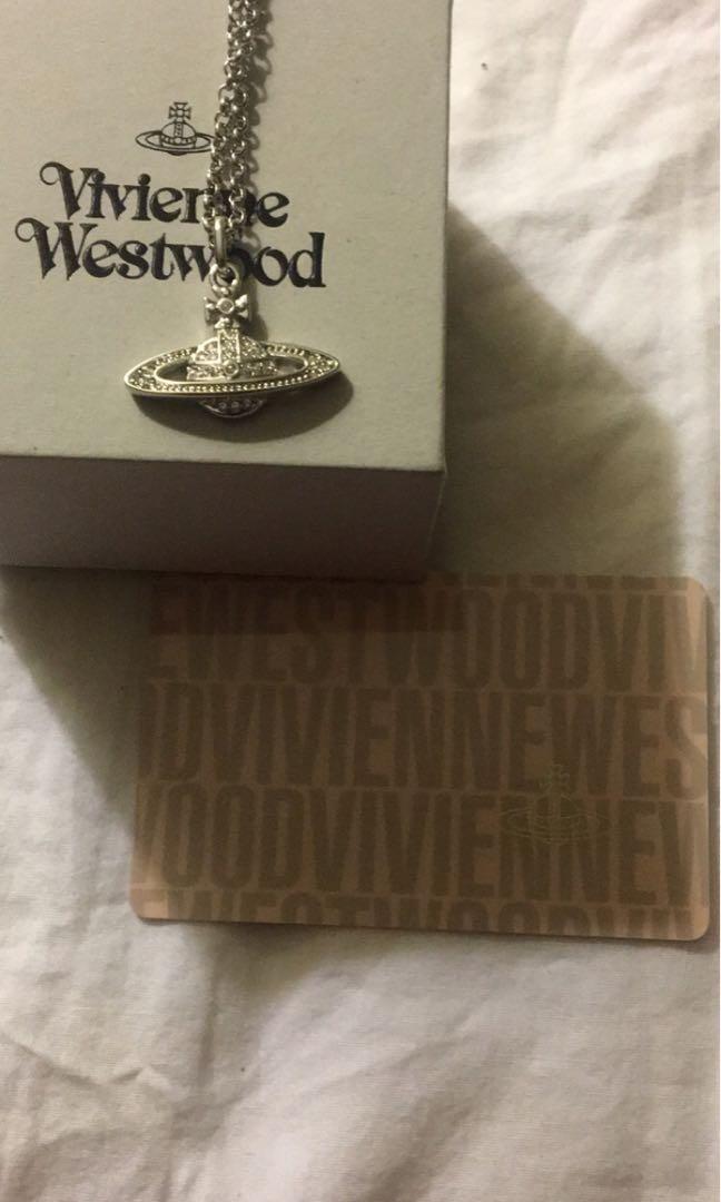 Authentic Vivienne Westwood mini bas necklace