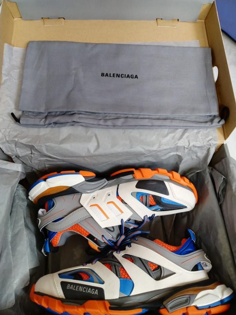UNBOXiNG Déballage de Balenciaga Track Orange Blanche