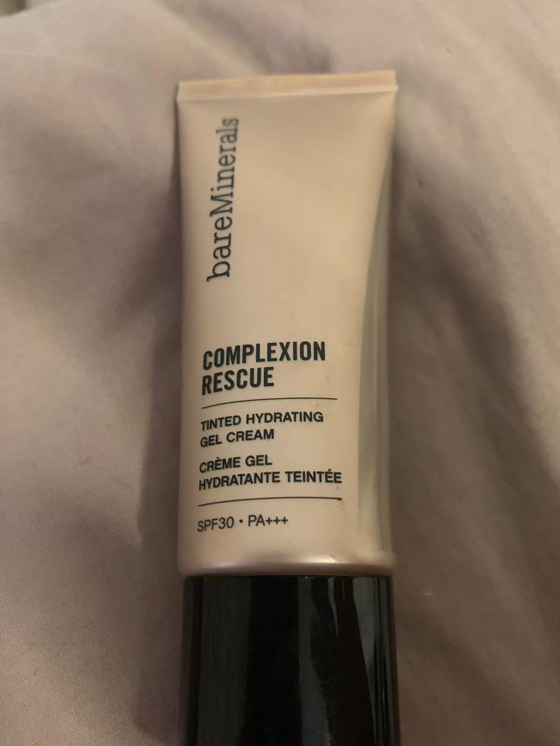 Bare minerals complexion rescue gel foundation spice