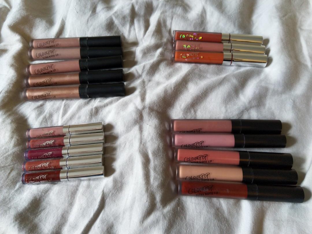 Brand New Colourpop (Ultra Matte Lip/Ultra Glossy Lip)