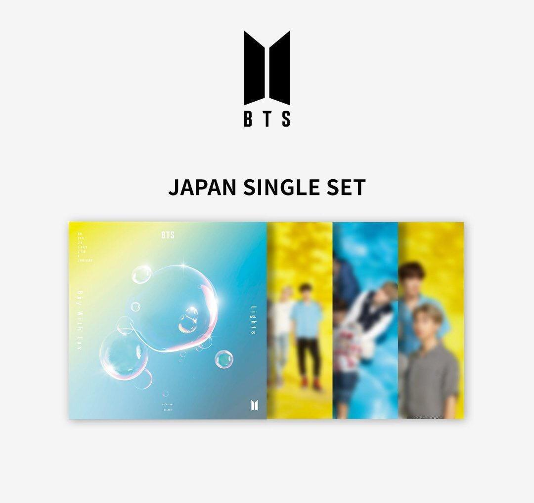 BTS 10TH SINGLE ALBUM [LIGHTS/BOY WITH LUV JAPANESE VER]