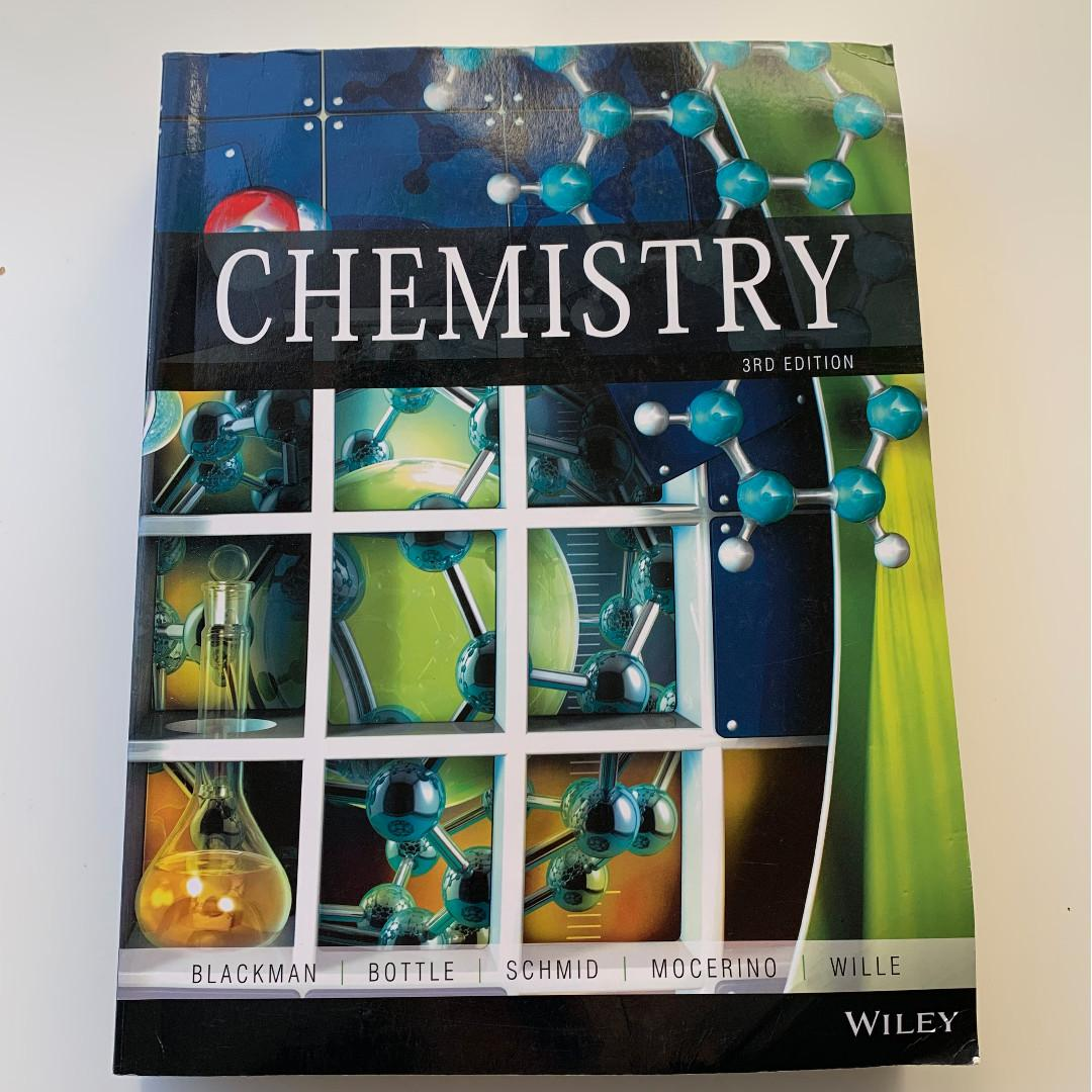 Chemistry 3rd edition - Allan Blackman, Steve Bottle, Siegbert Schmid, Mauro Mocerino, Uta Wille