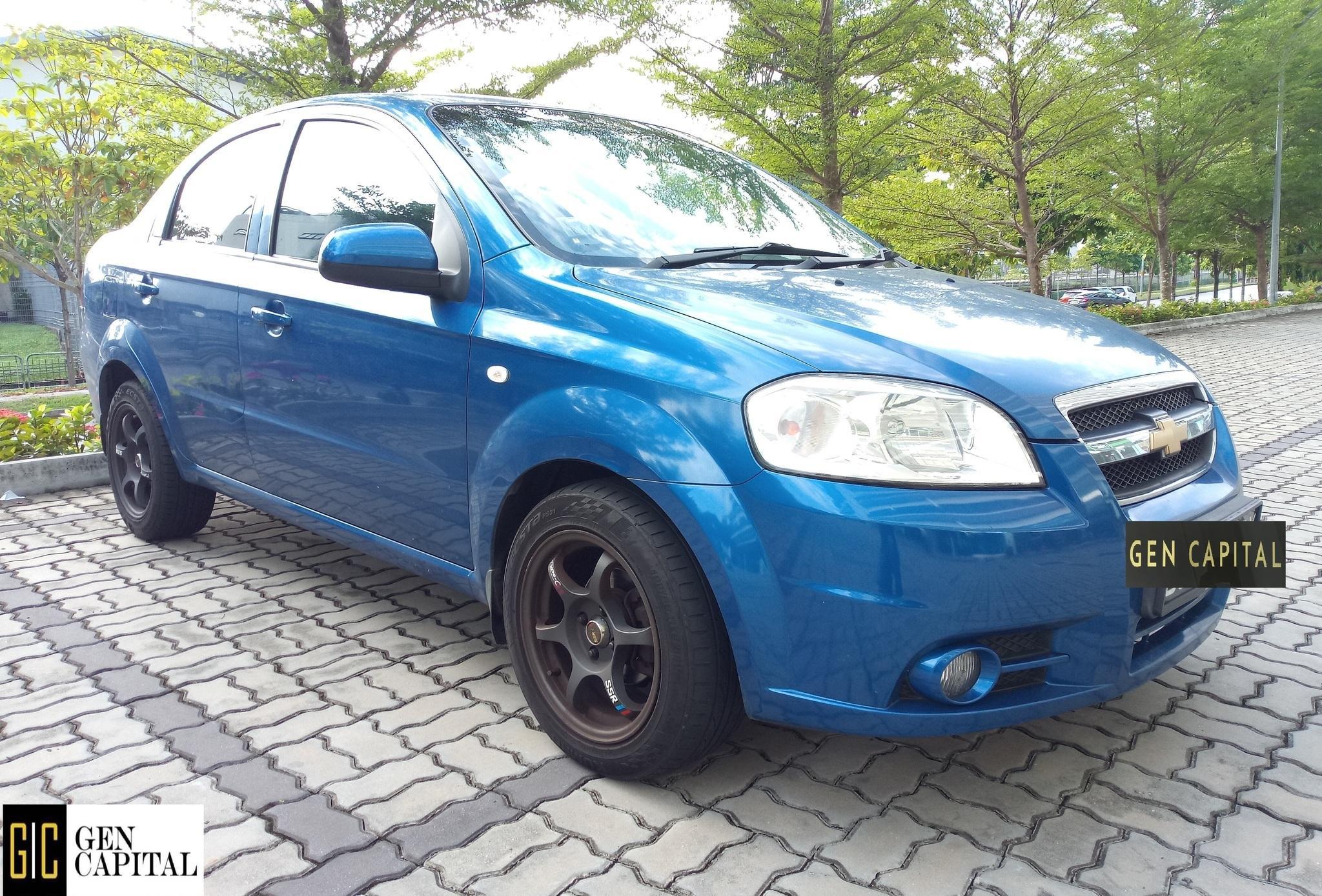 Chevrolet Aveo 1.4A Sedan Comfortable Car at Low Rental Rate