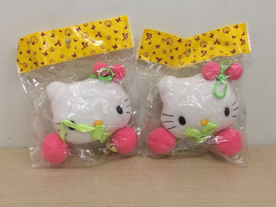 Hello Kitty窗簾扣一對 絕對珍藏