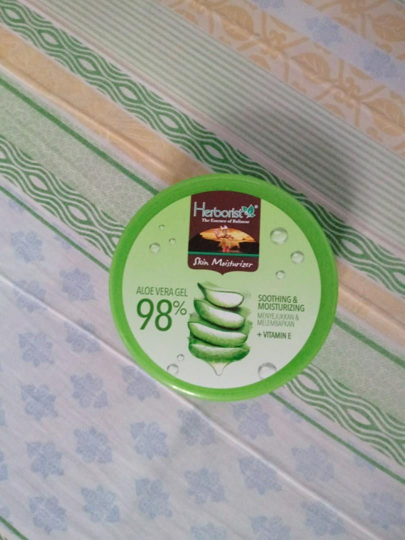 Herborist Aloe Vera Soothing Gel 98% NEW (MASIH DI SEGEL)