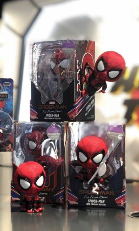 Hottoys cosbaby marvel Spider man far from home