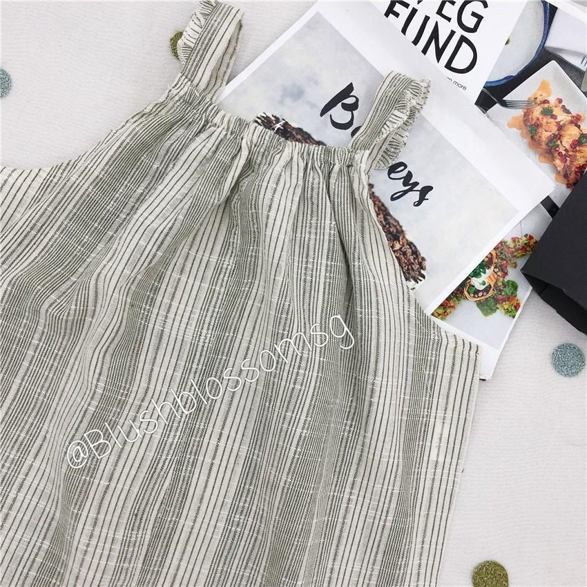 ⭐INSTOCK⭐ Mabel Thin Stripped Playsuit
