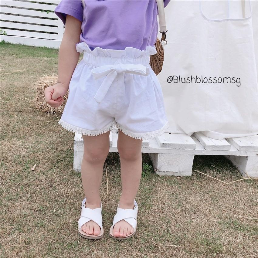 ⭐INSTOCK⭐ Paperbag Ribbon-Tied Shorts