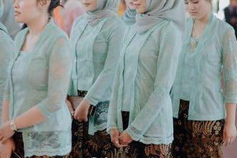 Kebaya Kutubaru Satu Set Tosca For Hijab Women S Fashion Women S