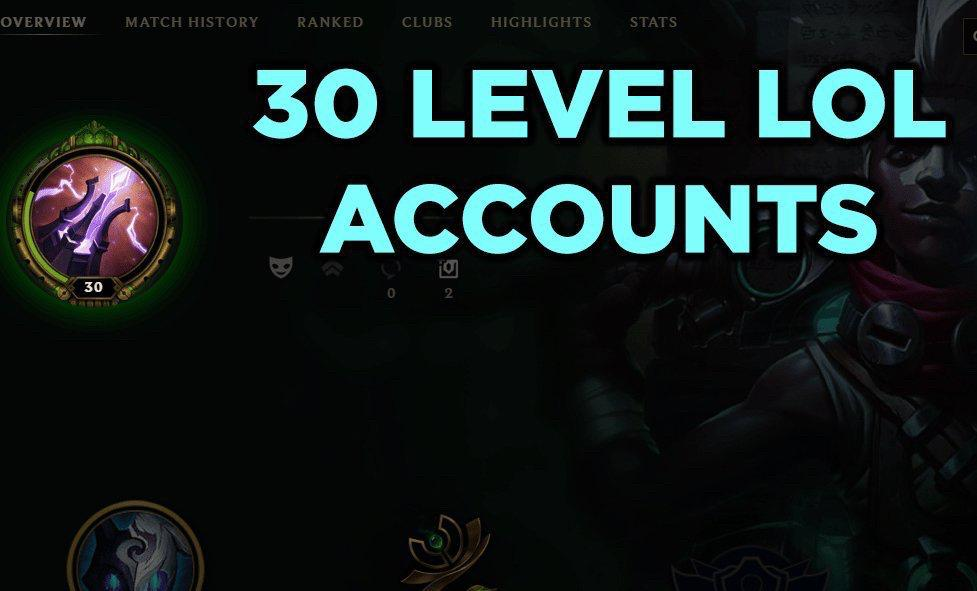 League Of Legends Level 30 Unranked Garena on Carousell