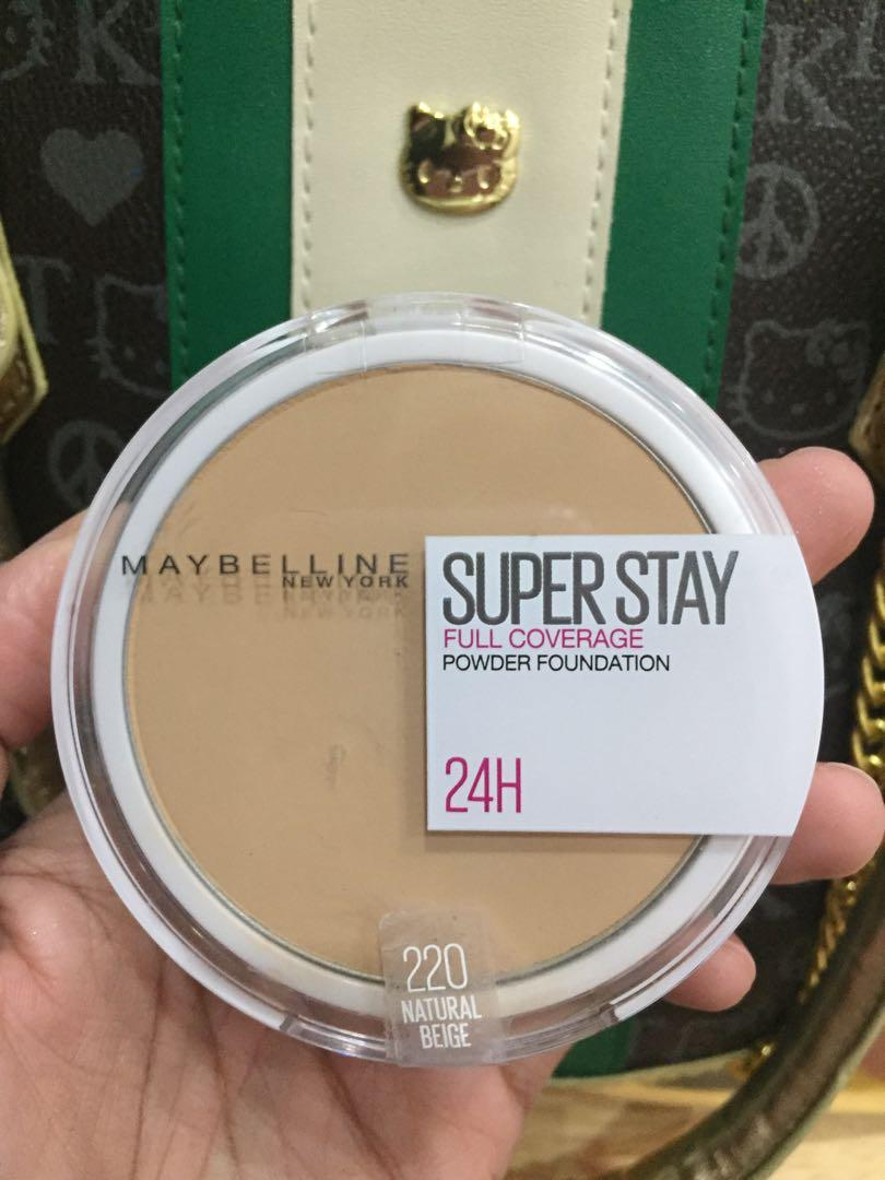 Maybelline Superstay 24hr Powder Foundation Shade220 Health Beauty Makeup On Carousell