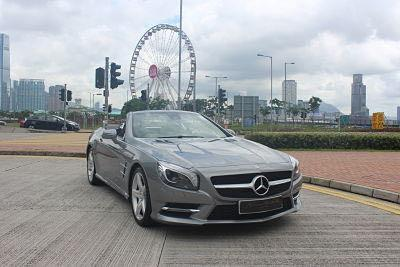 MERCEDES-BENZ SL400 2015