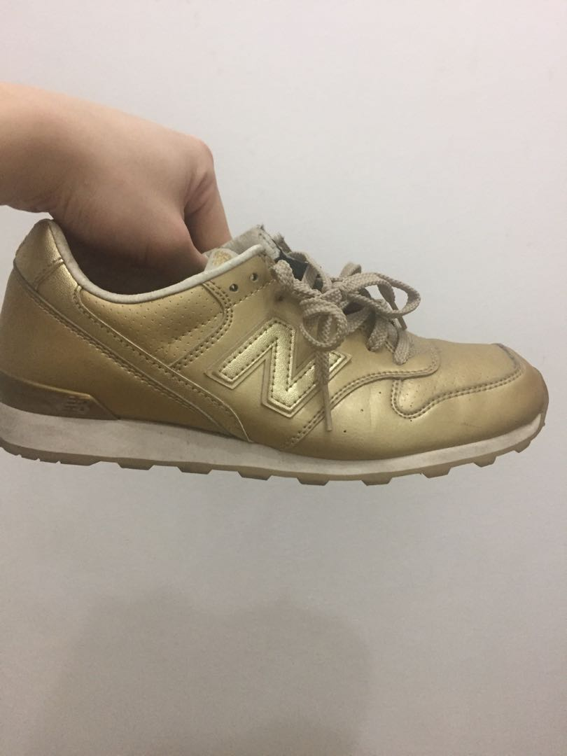 quality design 309d2 35270 New balance gold 996