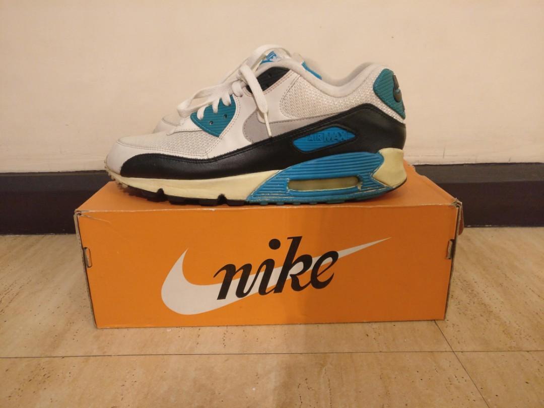 nike air max 90 size 5 blue