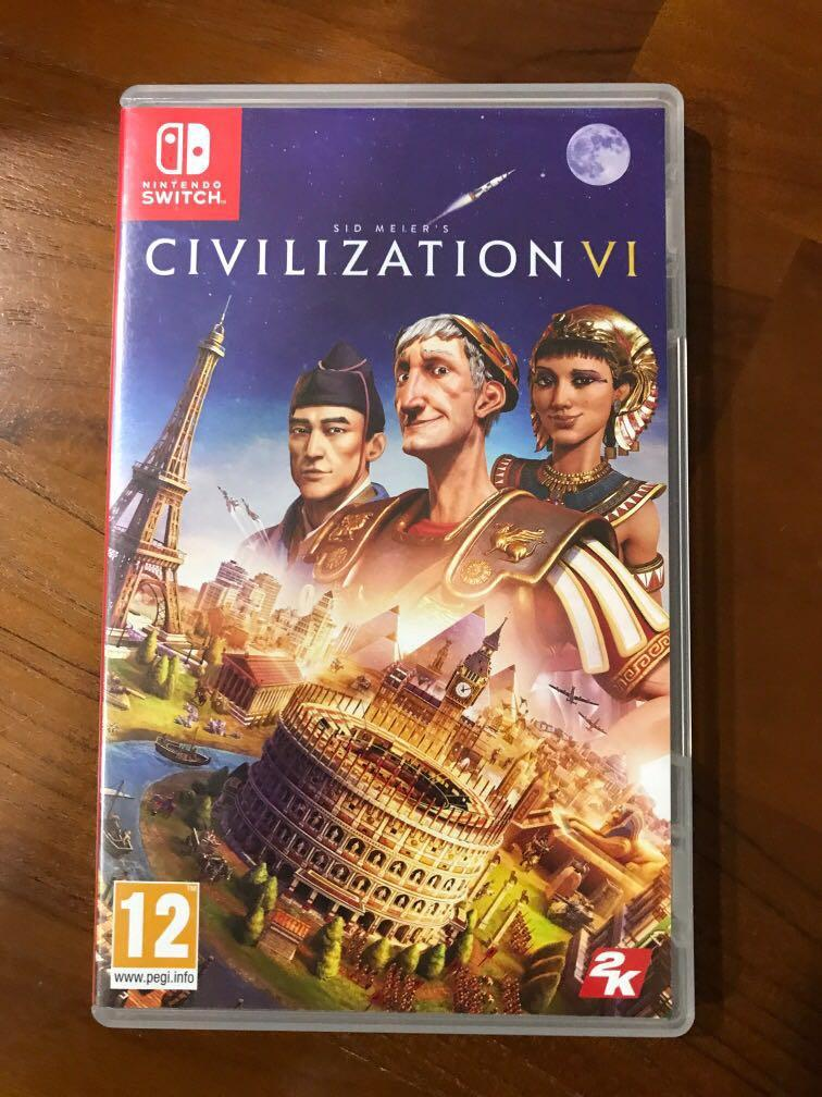 Nintendo Switch Civilization VI, Toys & Games, Video Gaming