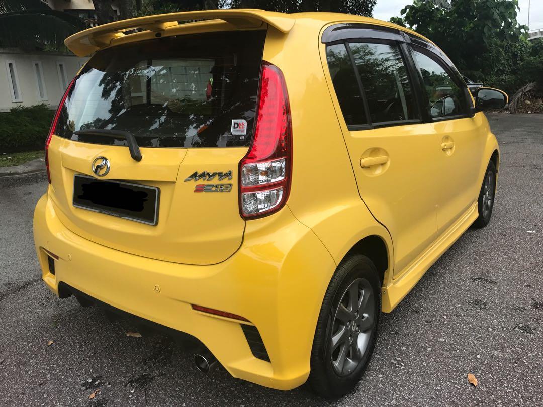 Perodua myvi 1.5a se