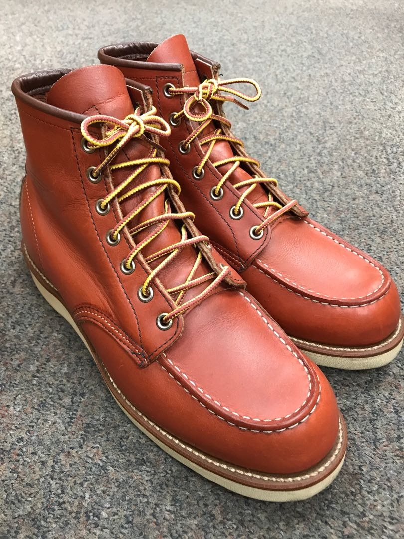 908fbac343f Red Wing Heritage Boots MOC Vintage 8875 US9E Oro Portage Russet Japan LE  {worn once}