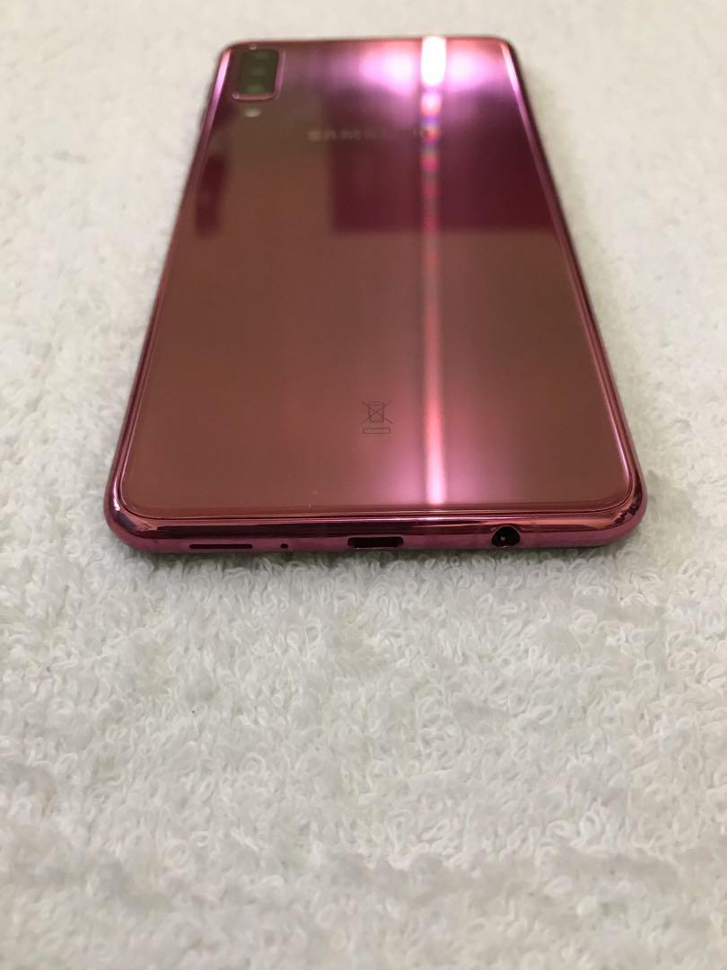 Samsung A7 2018 128gb Rom Limited Edition Smooth, Mobile