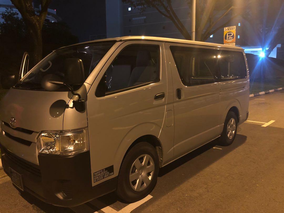 Toyota hiace euro 6 semi auto !