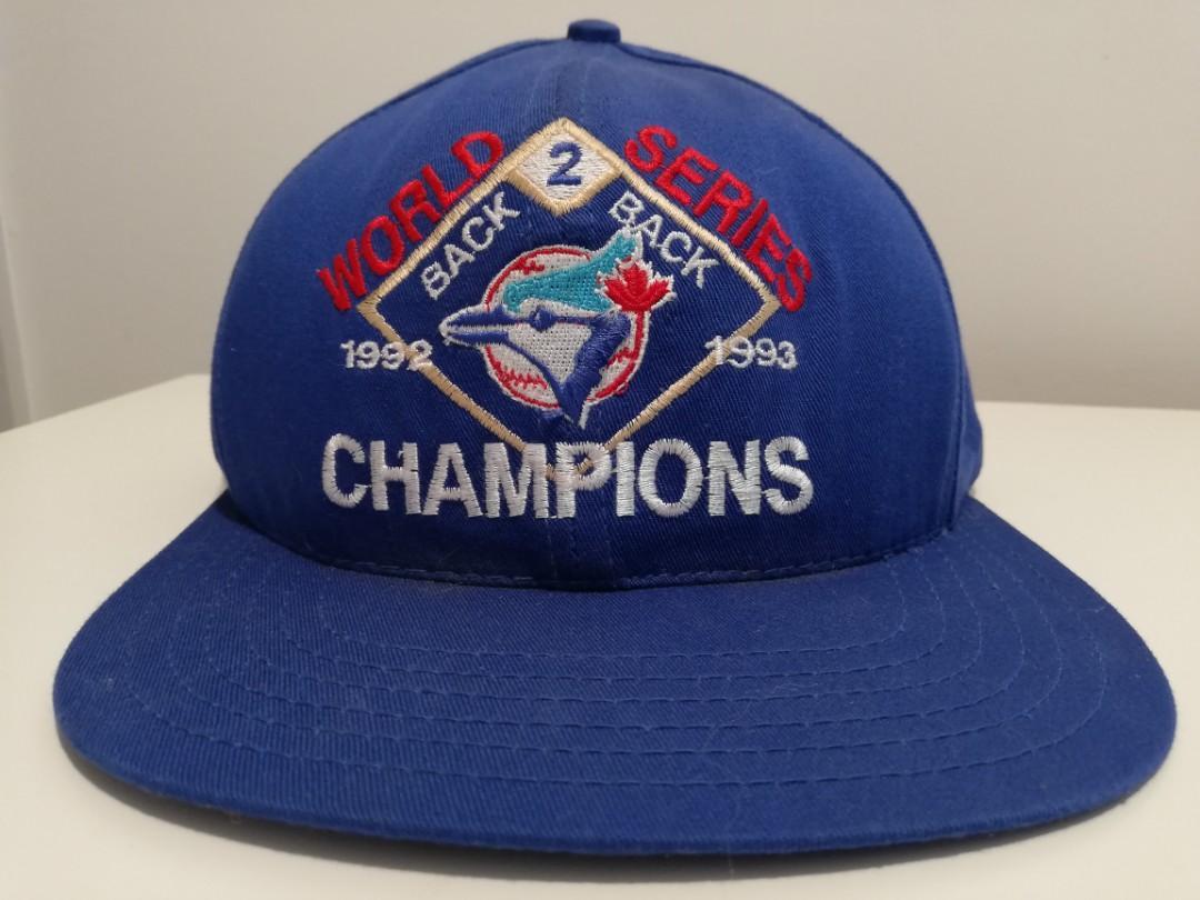 Vintage Blue Jay's 1992-1993 B2B Champions World Series Baseball Cap FAST SHIP!