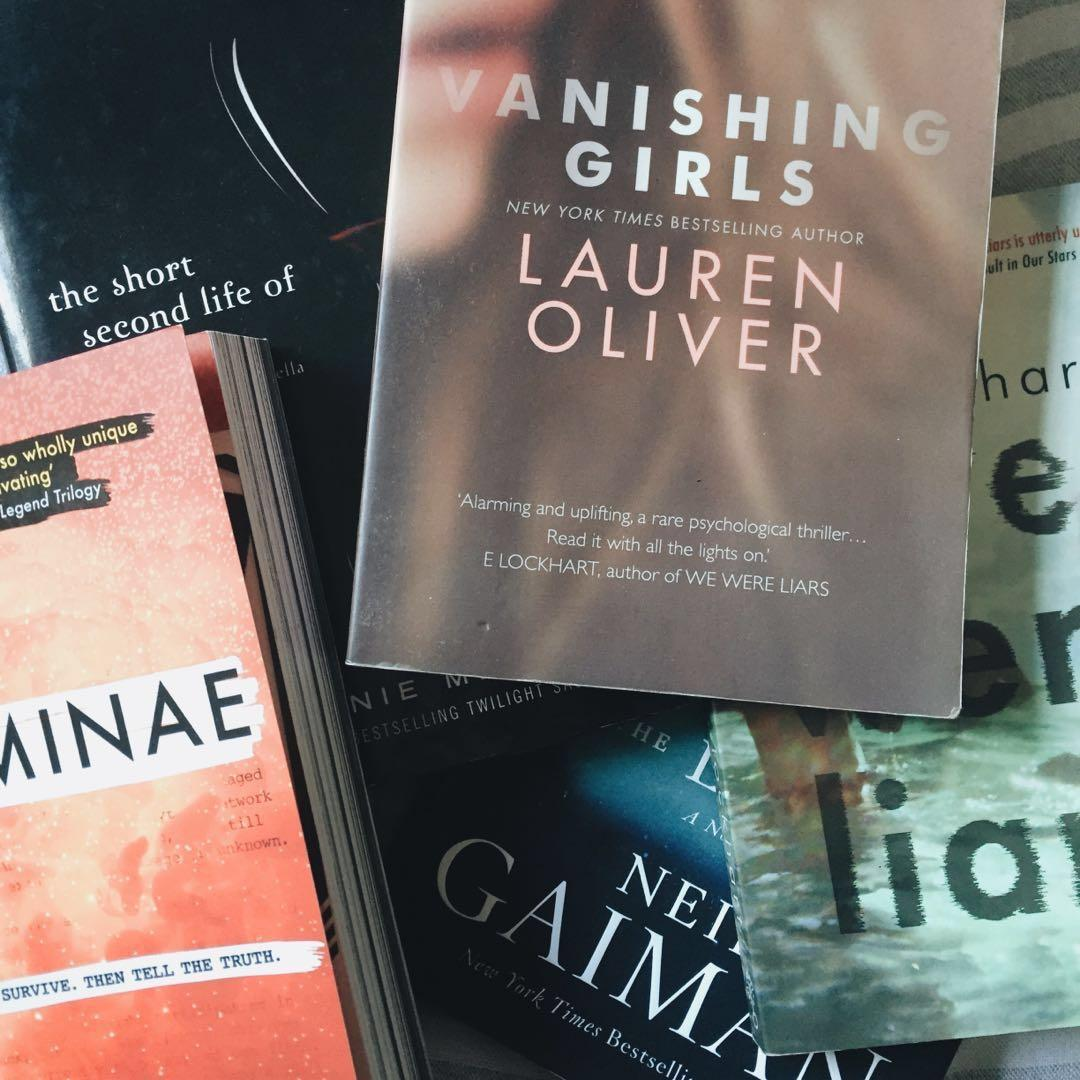 YA books + poetry books clearance (updated)