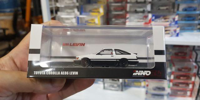 1:64 Inno64 Toyota Corolla AE86 Levin