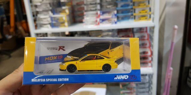 1:64 inno64 Honda Integra Type R DC2 Spoon - Malaysia Exclusive