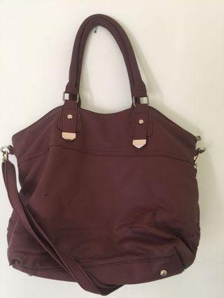 Cokelat Tas (shoulder bag)