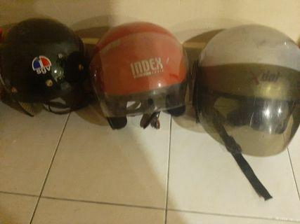 3 Piece Helmet Set